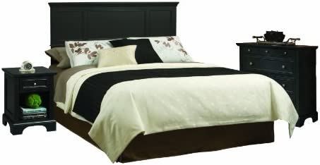 Bedford Black King Headboard