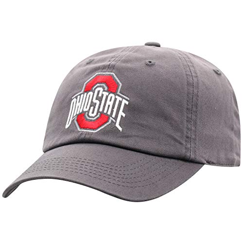 Top of the World Ohio State Buckeyes Men's Hat Icon, Charcoal, Adjustable