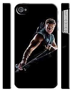 Hawkeye Avengers Iphone 4 4s Hard Case Cover