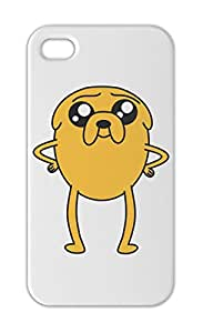 Jake The Dog Adventure Time Iphone 5-5s plastic case