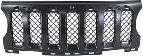 Crash Parts Plus Black Grille Insert for 2011-2015 Jeep Patriot CH1210110