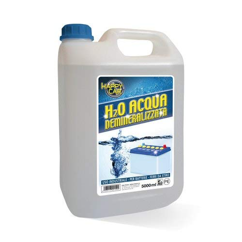 BCR Acqua distillata per batterie 5lt (Batterie con Acido) / distilled water for battery 5lt (Acid Battery) Labor Chimica B2_0494994