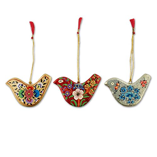Wooden Bird Ornament - 1