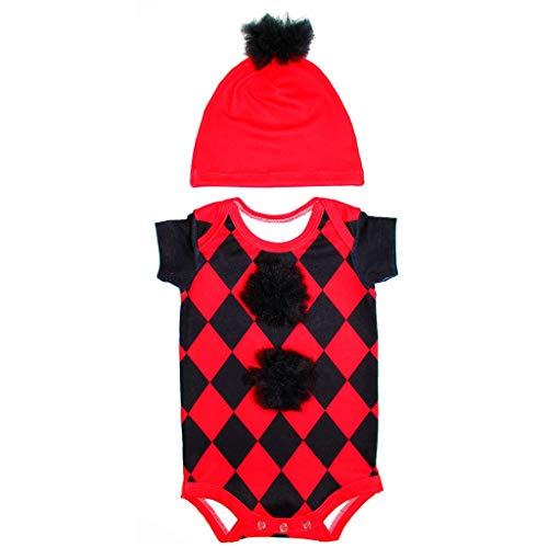 Body Bebê Fantasia Pierrot - Isabb