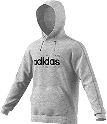 adidas XBYO Hoodie Medium Grey Heather, Herren | Schuhdealer