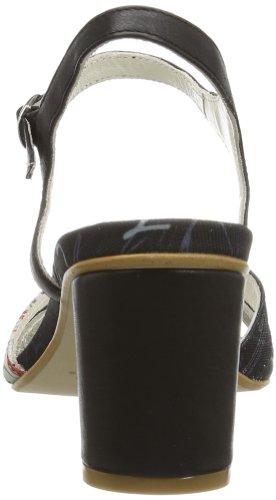 Desigual SANDALS MEDIO TACON 1 - Tira de tobillo de material sintético mujer negro - Schwarz (NEGRO 2000)