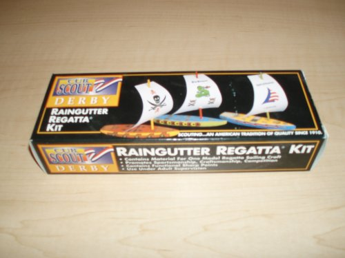 Cub Scouts of America - Raingutter Regatta Kit