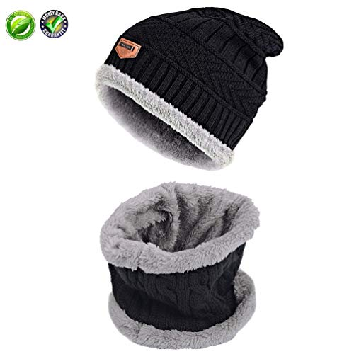 sex Warm Beanie with Fleece Lining for Men or Women ()