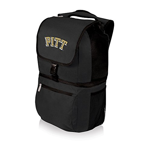 PICNIC TIME NCAA Pittsburgh Panthers Zuma Insulated Cooler Backpack, Black