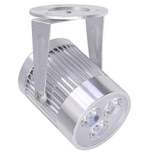 Yescom 12'' Mirror Disco Ball w/Rotating Motor & 3W 3 Blue LED Pinspot Spot Light Kit Home Party Club Lighting by Yescom (Image #5)