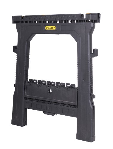Stanley 060864r Folding Sawhorse 2 Pack Import It All