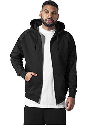 Hoody negro para Urban Zip Sudadera Classics Hombre q16UREPx