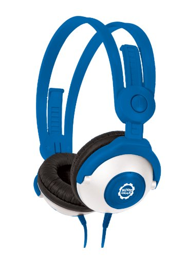 Kidz Gear Wired Headphones For Kids - Blue