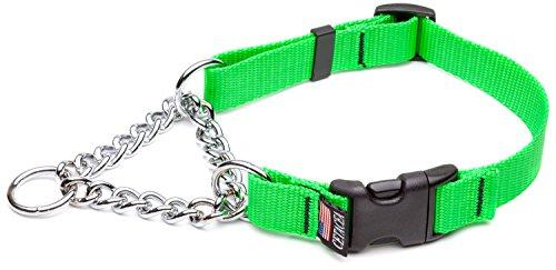 Cheap Cetacea Large Adjustable Martingale Chain, 1″, Florescent Green