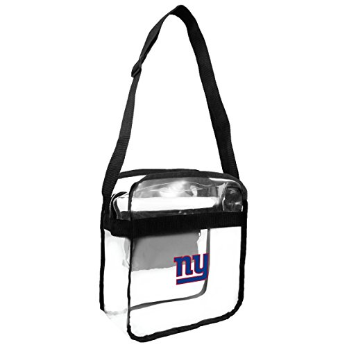 NFL New York Giants Clear Carryall Crossbody Purse