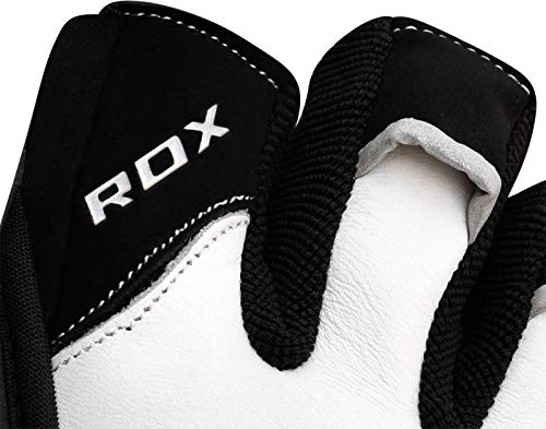 L'air Poignet Workout Powerlifter De Fitness Cuir À Blanc Musculation Gloves Gymnastique Gants Entrainement Halterophilie Perméable Rdx Gym tq6wII