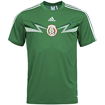 adidas México Home Replica tee Camiseta g74502, Verde, XX-Large: Amazon.es: Deportes y aire libre