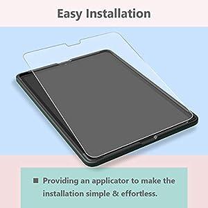 Tempered Glass Screen Protector for New i'Pad Pro 12.9 (2018), MiiKARE Screen Protector for i'Pad Pro 12.9 inch with Matte Glass, Anti-Glare, Anti-Fingerprint