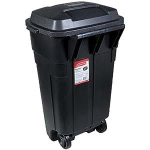 Amazon Com Rubbermaid Roughneck Heavy Duty Wheeled Trash