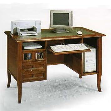 computer schreibtisch holz