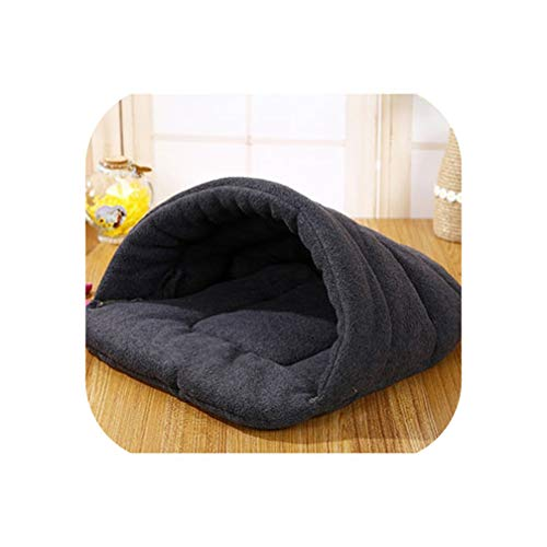 Hot! Pet Cat Bed Small Dog Puppy Kennel Sofa Polar Fleece Material Bed Pet Mat Cat House Cat Sleeping Bag Warm Nest,3,S 33x30cm]()