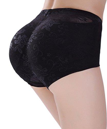 [NINGMI Women Butt Lifter Padded Control Panties Hip Enhancer Underwear Shapewear] (Padded Underwear)