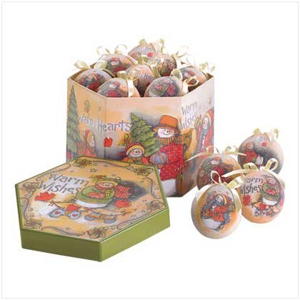 [DEAL] Warm Wishes Boxed Ornam...