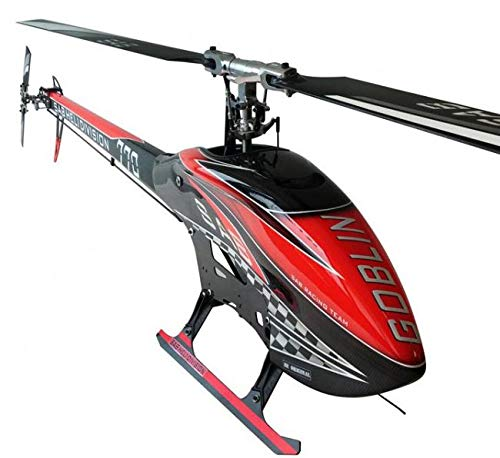SAB Goblin 770 Flybarless Electric Helicopter Carbon Edition Red/Black (Electric Flybarless Helicopter)