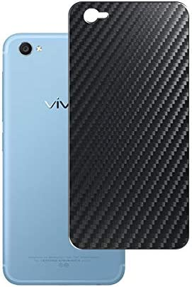 Vaxson 2-Pack Back Protector Film, compatible with vivo X9, Black Carbon Fiber Guard Cover Skin [Not Tempered Glass/Not Front Screen Protectors]