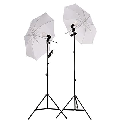 Cowboy Studio 2 Photography Studio Continuous Lighting Kit With Two 45w 5000k Day Light Fluorescent Photo Light Bulbs by Cowboy Studio
