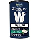 Biochem Sugar - 100% WHEY Protein - Coconut - Sugar Free - 20g of Protein(11.2 Ounce)