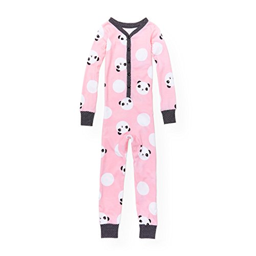 Panda Sleeper (The Children's Place Big Girls' Panda Onesie, Whisperpnk 90297, 6X/7)