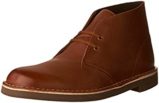 Clarks Men's Bushacre 2 Chukka Boot, British Tan Leather, 8 M US (B01I2AXZWE) | Amazon price tracker / tracking, Amazon price history charts, Amazon price watches, Amazon price drop alerts