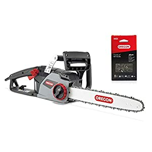 CS1400 Electric Chainsaw with 16-Inch (40 cm) Guide Bar and Oregon Duracut Saw Chain with Replacement Chain