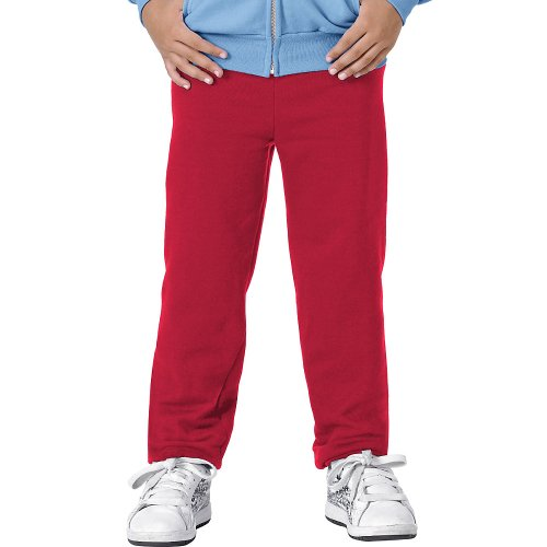 - Hanes Youth ComfortBlend Fleece Sweatpant, Deep Red, M