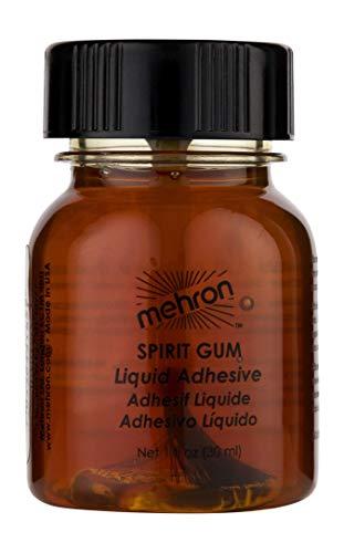 Spirit Gum Adhesive (Mehron Makeup Spirit Gum (1 oz))