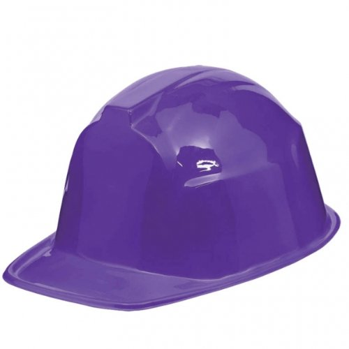 Amscan Construction Hat Party Accessory, Purple]()
