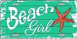 Kyпить Beach Girl Novelty Metal License Plate LP-8394 на Amazon.com