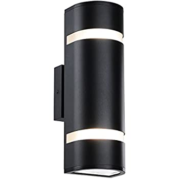 Outdoor wall light in d shape with aluminum modern wall sconce black outdoor wall light in d shape with aluminum modern wall sconce black water proof wall mount aloadofball Image collections