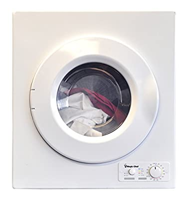 Magic Chef MCSDRY15W Laundry Dryer, White