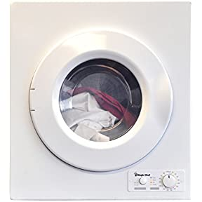 Magic Chef MCSDRY1S 2.6 cu. ft. Laundry Dryer, White
