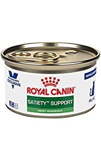 Royal Canin Veterinary Diet Feline Satiety Support Weight Management Morsels in Gravy Canned Cat Food 24