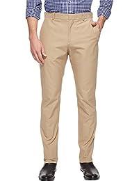 Perry Ellis Men's Standard Slim Fit Travel Luxe Cotton Pant