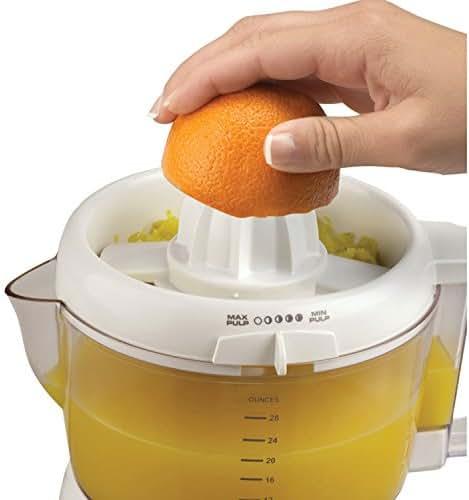 BLACK+DECKER CJ630 32-Ounce Electric Citrus Juicer, White