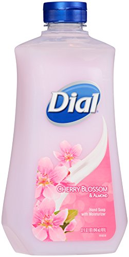Dial Liquid Hand Soap Refill, Cherry Blossom/Almond, 32 Ounce (Dial Cherry Almond Soap compare prices)