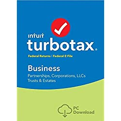 Turbotax Business 2018 (5 Fed e-file) **DOWNLOAD**