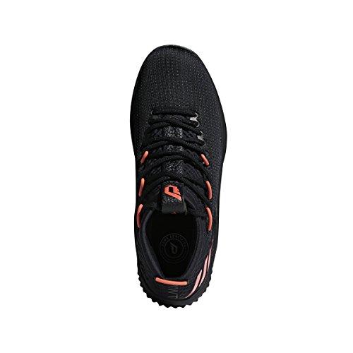 Black 4 dark adidas Men's Dame red Basketball Grey Core Shoe TY5fw