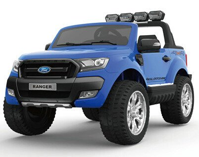 d14c29544d8 4x4 Licensed Ford Ranger Ride on Car for Kids with Upgrades - Blue ...