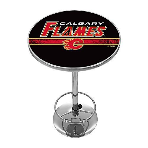 Flames Pub Table, Calgary Flames Pub Table, Flames Pub