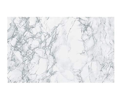Rouleau de vinyl à dos autoadhésif D-C-FiX - En marbre blanc/gris clair - 45cm x 1m - 2256 A S Supplies Ltd.